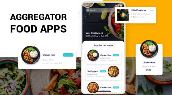 Aggregator Food Apps