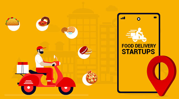 food delivery startups application development