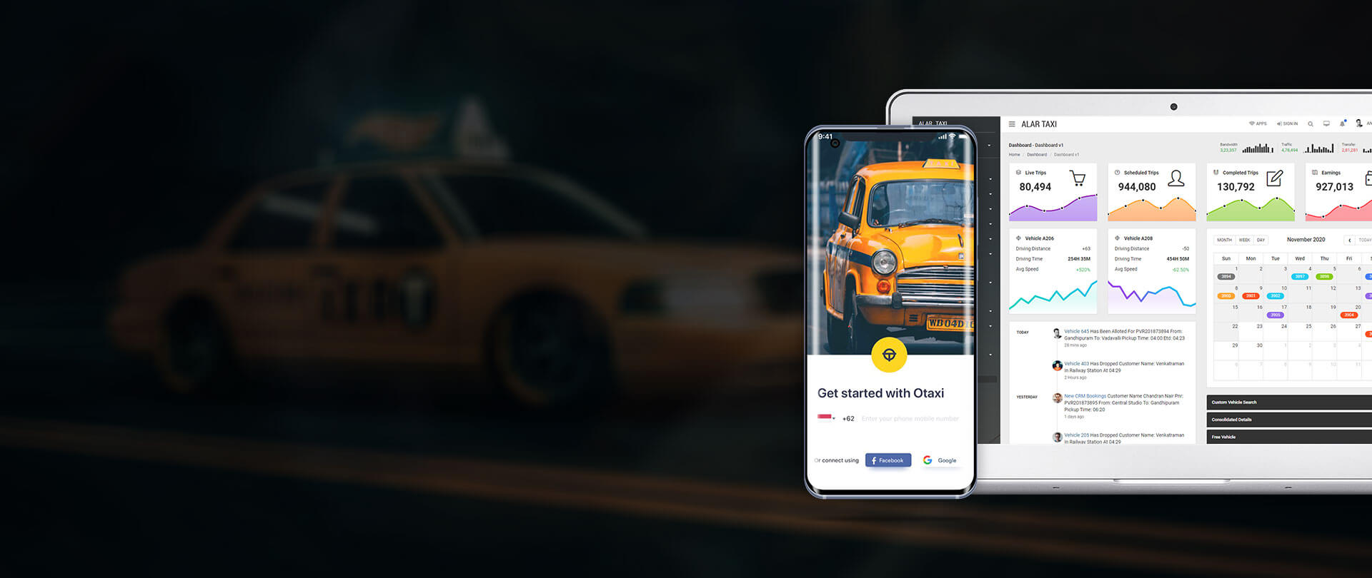 Taxi Booking App Development - Get Your Car Booking App